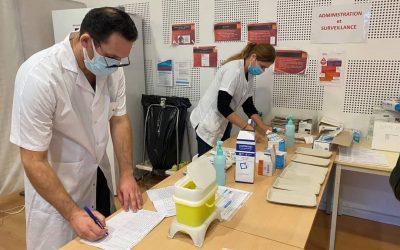 Synthèse du centre de vaccination de Carpentras à l'hôpital